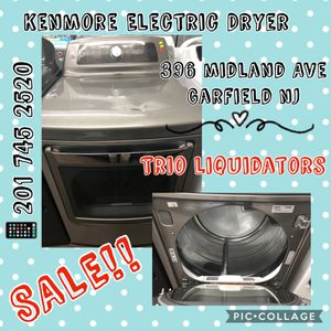 Kenmore Electric Dryer SALE !! for Sale in Passaic, NJ