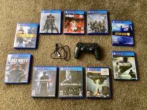 Games $20 each/ controller $35 for Sale in Huntington Beach, CA