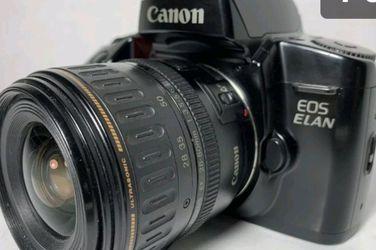 Canon EOS Elan 35mm Camera W/35-70mm Lens for Sale in Chesapeake,  VA