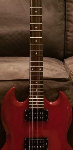"Epiphone ""Red Rum"" Guitar for Sale in Alexandria,  VA"
