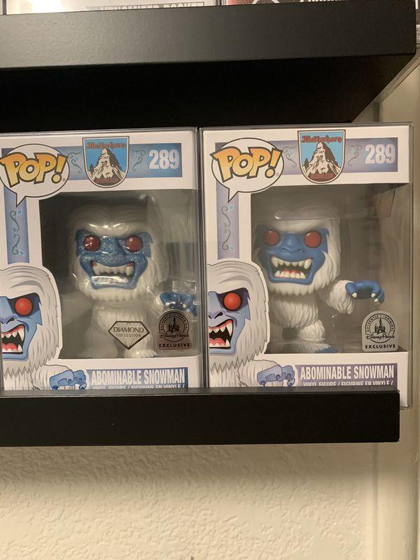 Abominable Snowman Funko Pop Set
