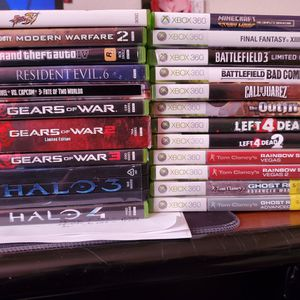 Xbox 360 And PS2 GAMES FOR SALE! for Sale in Stockton, CA