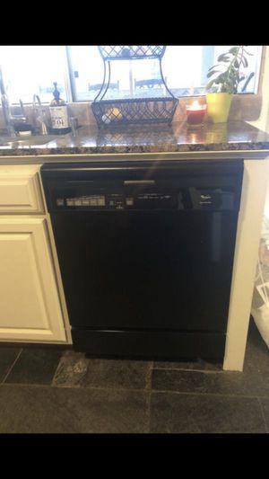 Black Whirlpool Dishwasher for Sale in La Verne, CA