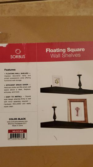 Floating wall shelves New in Box. for Sale in Lutz, FL