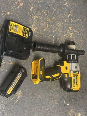 Like new Dewalt hammer drill with battery and charger only asking $170 for Sale in Corona, CA