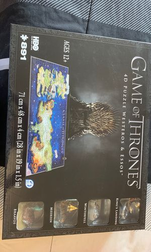 Puzzle game of thrones 4d for Sale in Silver Spring, MD