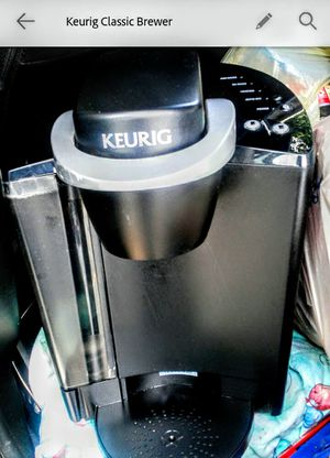 Keurig Classic KCup Coffee Brewer, $15. for Sale in Marlborough, MA