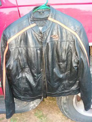 Harley Davidson jacket..large..womens.make decent offer.. for Sale in Pontotoc, MS