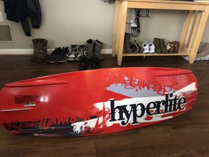 Hyper lite premier wakeboard and alpha liquid force boots for Sale in New Market, MD