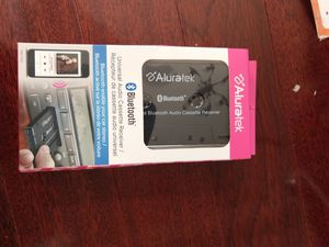 aluratek universal bluetooth audio cassette receiver for Sale in Fort Worth, TX