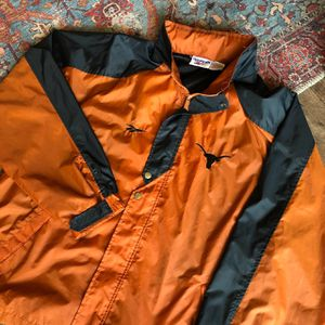 VINTAGE REEBOK UNIVERSITY OF TEXAS JACKET SIZE LARGE for Sale in Austin, TX