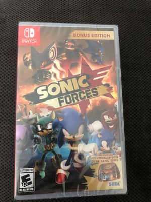Sonic forces Nintendo Switch - $49 for Sale in Benbrook, TX