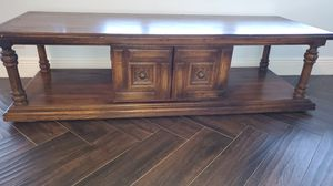 TV stand Media Cabinet Side Table wood for Sale in Delray Beach, FL