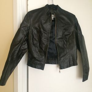 Imported Elegant Black LeatherJacket by Lana for Sale in Falls Church, VA