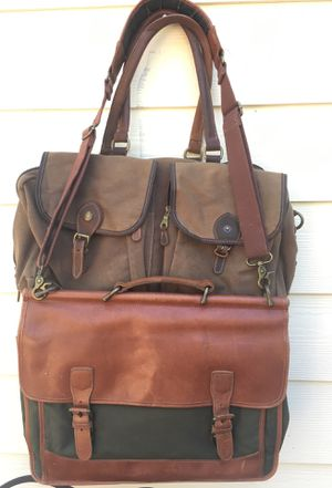 LL Bean Vintage Saddle Bags Briefcases 2 Ea for Sale in Smoke Rise, GA