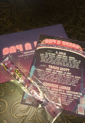 DAY N VEGAS GA TICKET for Sale in Colton, CA
