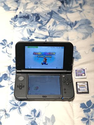 Nintendo 3DS XL w/ 3 Games for Sale in Chicago, IL