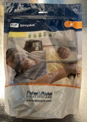 P Simplus Full Face Mask Size Large for CPAP Machine NEW/ I have head straps, hoses etc for Sale in San Jacinto, CA