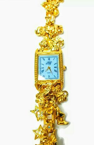 """Kirks Folly """"Secret Of 7 Angels"""" Gold Charm Women's Watch for Sale in Silver Spring, MD"""