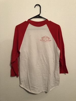 Red baseball tee size medium for Sale in Austin, TX