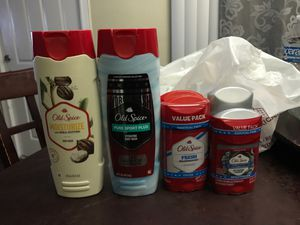Old spice hygiene for Sale in San Bernardino, CA