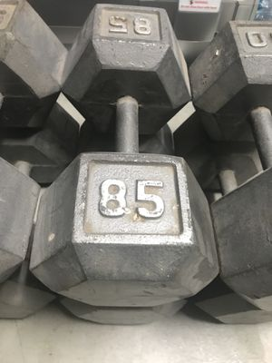 85lb dumbbells for Sale in Santa Clarita, CA