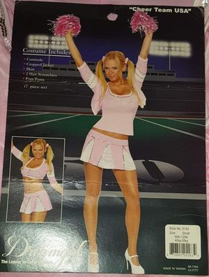 Dreamgirl Cheerleader Sexy Adult Halloween Costume, Small Women's Female for Sale in Pinellas Park, FL