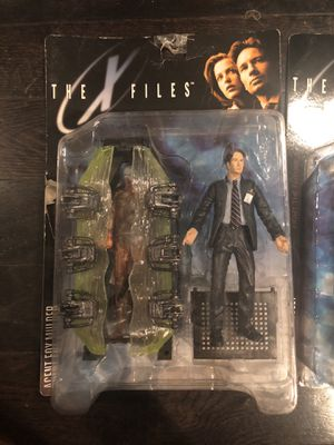 THE X FILES ACYION FIGURES for Sale in Dallas, TX