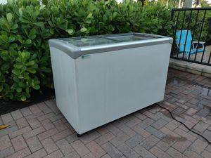 Excellence EURO-13HC Ice Cream Flat Top Flat Lid Display Freezer - 12.5 cu. ft. Item #: 360EURO13HC for Sale in Fort Lauderdale, FL