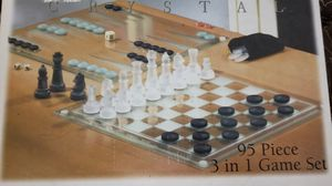 Fifth Avenue Crystal Chess Set for Sale in Fairfax, VA