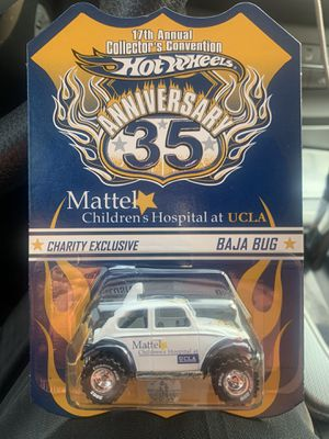 HOT WHEELS 35TH CONVENTION CHARITY EXCLUSIVE VW BAJA BUG RR #1329/4000 RARE LOW for Sale in Fresno, CA
