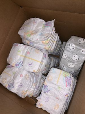 Diapers size 1 and Newborn for Sale in Stockton, CA