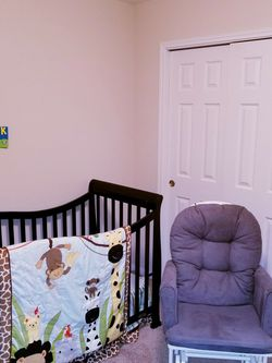 Baby Jungle Animal Bed In a Bag Comforter Set for Sale in Huntsville,  TX