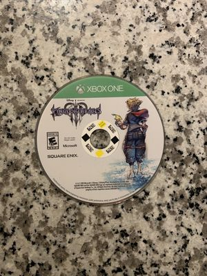 Kingdom Hearts 3 disc only for Sale in Franklin, TN