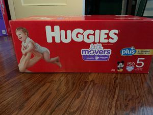 Huggies Little Movers size 5 150 ct for Sale in Piedmont, CA