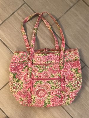PINK VERA BRADLEY PAISELY TOTE BAG for Sale in Buford, GA