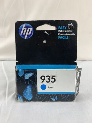 GENUINE HP 935 Cyan Ink Cartridge Expired 2016 FACTORY SEALED for Sale in Peoria, IL