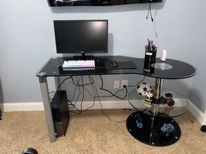 Glass desk for Sale in Cumming, GA