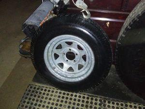 DURO 225/75/15 trailer tire and rim for Sale in Haverhill, MA