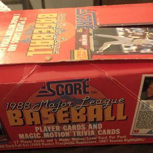 1988 Score Baseball Trading Cards for Sale in Lake Elmo, MN