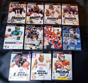 10 PS2 Games for Sale in Manchester, PA