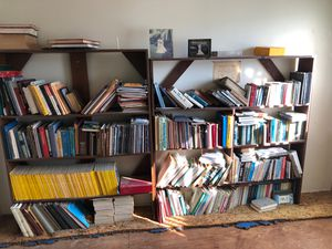 Library bookcases and books for free for Sale in Torrance, CA