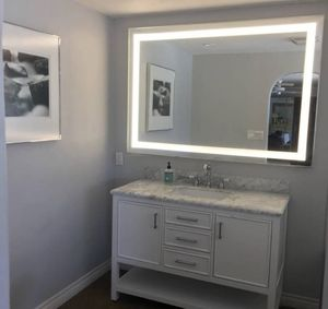 LED BATHROOM MIRROR NEW IN BOX (see description) for Sale in Las Vegas, NV