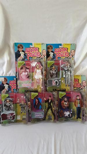 1999 Austin Power figures Series 2 Toys for Sale in Menifee, CA