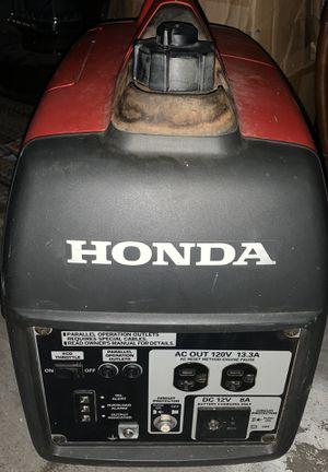 Honda inverter generator eu2000i for Sale in Salt Lake City, UT