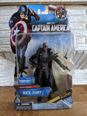Marvel Legends Nick Fury Walmart Exclusive MCU for Sale in Paterson, NJ