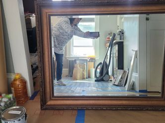 Large 50x40 decorative wall mirror. for Sale in Woburn,  MA