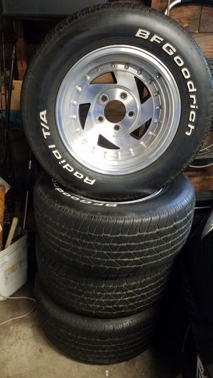 Craiger rims and tires for Sale in Snohomish, WA