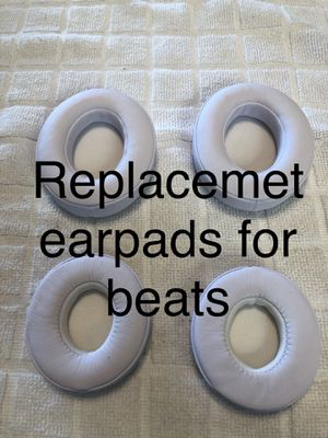 Replacement earpads for beats solo and studios, white only. for Sale in San Diego, CA
