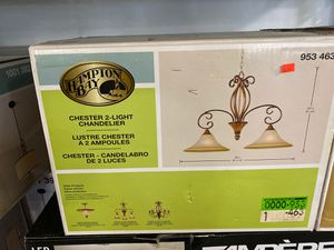 Hampton Bay Chester 2-Light Chandelier for Sale in Buena Park, CA